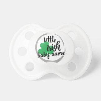 Chupeta Pacifier pequeno personalizado do Dia de São