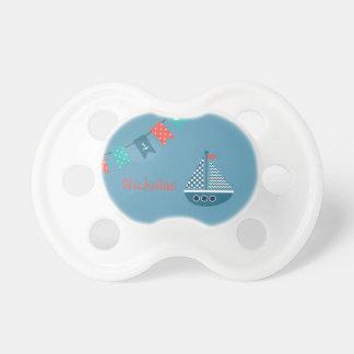 Chupeta Pacifier personalizado âncora do barco do veleiro