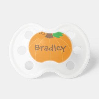 Chupeta Pacifier personalizado da abóbora do bebê
