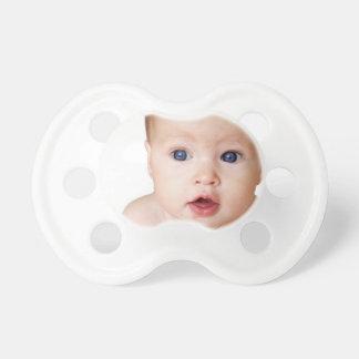 Chupeta Pacifier personalizado da foto do bebê