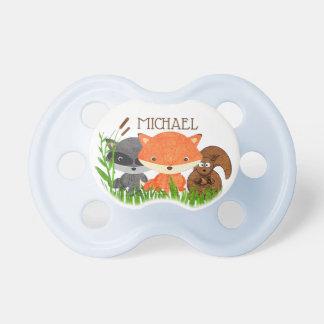 Chupeta Pacifier personalizado do bebé dos animais da