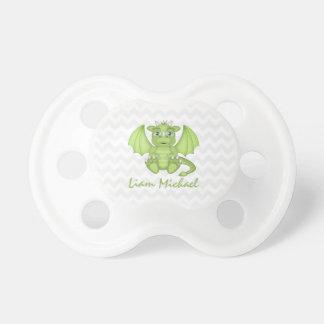 Chupeta Pacifier personalizado do dragão do bebê