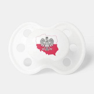Chupeta Pacifier polonês da bandeira
