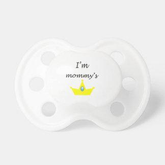 Chupeta para bebê princessinha da mamãe