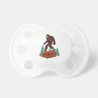 Chupeta Paraíso de Bigfoot