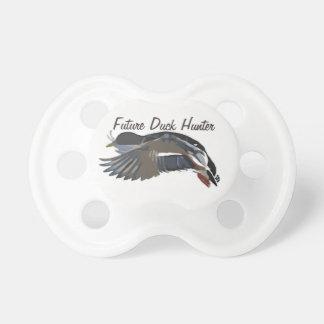 Chupeta Pato selvagem futuro Soother do caçador do pato