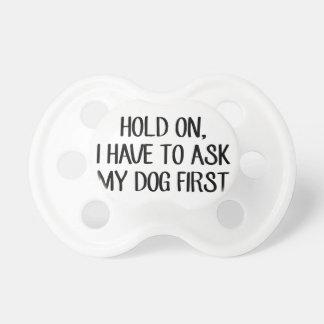 Chupeta Pergunte a meu cão primeiro