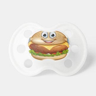 Chupeta Personagem de desenho animado da mascote da comida