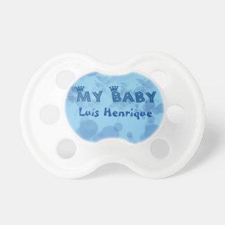 Chupeta personalizada com o nome do bebê