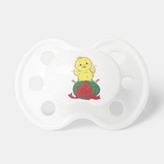 Chupeta Pintinho no ovo da páscoa