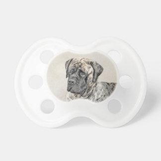 Chupeta Pintura (rajado) inglesa do Mastiff - cão original