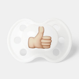 Chupeta Polegares acima - Emoji