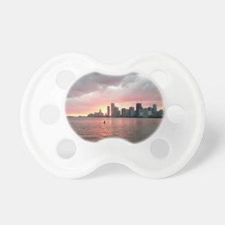 Chupeta Por do sol sobre Miami