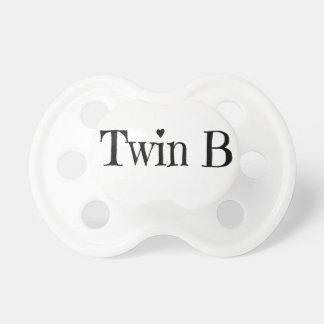 Chupeta Presente do chá de fraldas dos gêmeos - Pacifier