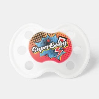 Chupeta Presente do pacifier do bebê do super-herói,