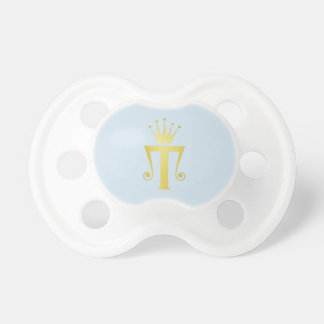 Chupeta Presente inicial do Pacifier do bebê do monograma