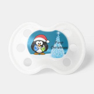 Chupeta Primeiro manequim do Natal