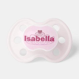 Chupeta Princesa Isabella Cor-de-rosa Pacifier