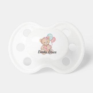 Chupeta Princesa pequena Balão & bebé do urso de ursinho
