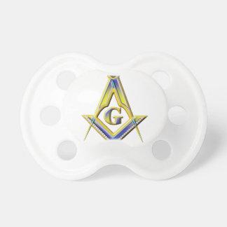 Chupeta Quadrado & compassos do Freemason