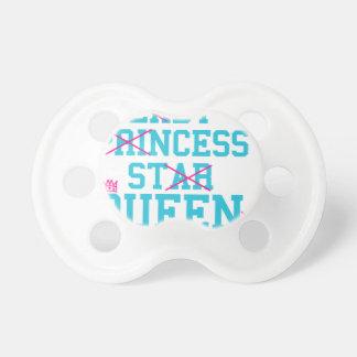 Chupeta Rainha da estrela da princesa da senhora