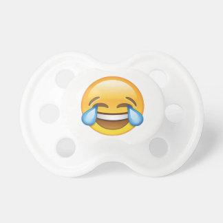 Chupeta Rasgos de grito de riso do emoji da alegria