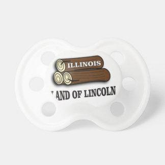 Chupeta Registros de Illinois de Lincoln