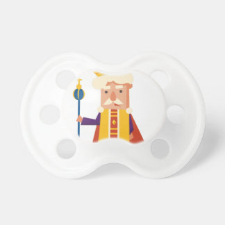 Chupeta Rei personagem de desenho animado
