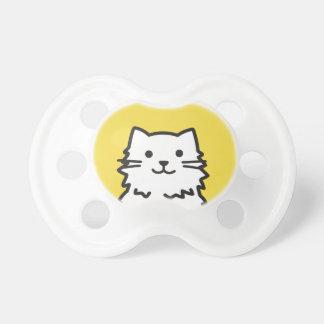 Chupeta Retrato engraçado do gato