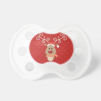 Chupeta Rudolph bonito os desenhos animados cheirados