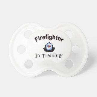 Chupeta Sapador-bombeiro no treinamento