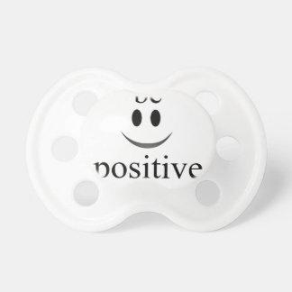 Chupeta seja sempre positivo