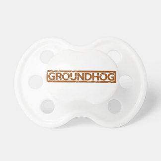 Chupeta Selo de Groundhog