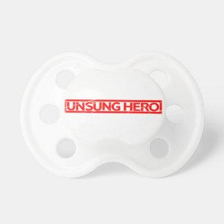 Chupeta Selo do herói desconhecido
