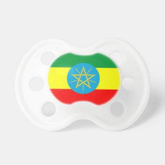 Chupeta símbolo longo da bandeira de país de Etiópia