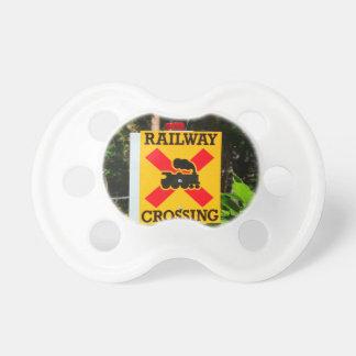Chupeta Sinal do cruzamento Railway