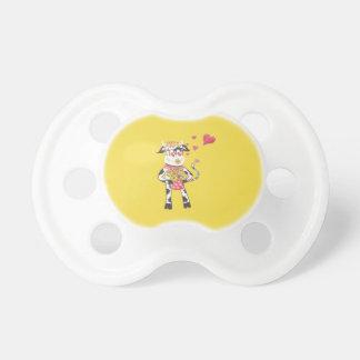 Chupeta Snowbell no amor - pacifier do bebê do dia dos