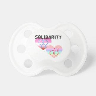 Chupeta Solidariedade alegre lésbica