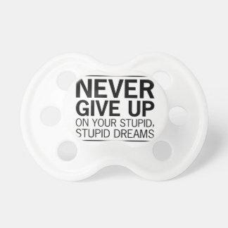 Chupeta Sonhos estúpidos estúpidos