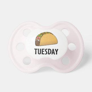 Chupeta Taco terça-feira