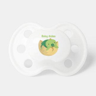 Chupeta Tartaruga bonito no Pacifier personalizado ovo do