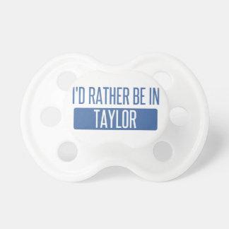 Chupeta Taylor