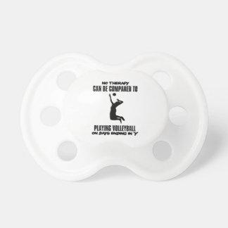 Chupeta Tendendo o design do voleibol