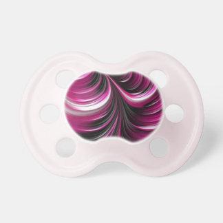 Chupeta Teste padrão cor-de-rosa da arte do abstrato 3D