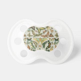 Chupeta Teste padrão de borboleta
