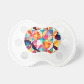 Chupeta Teste padrão geométrico de Kaledioscope do círculo