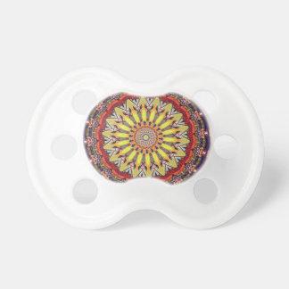 Chupeta Teste padrão vibrante popular da mandala
