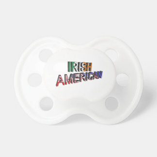 Chupeta Texto Irlandês-Americano para o