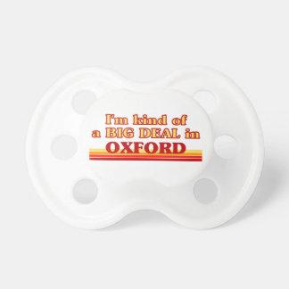 Chupeta Tipo de I´m de uma grande coisa em Oxford