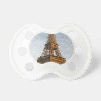 Chupeta torre Eiffel abstrata